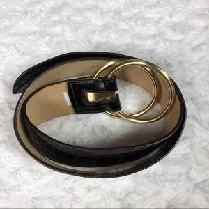 Ann Taylor Genuine Leather Belt